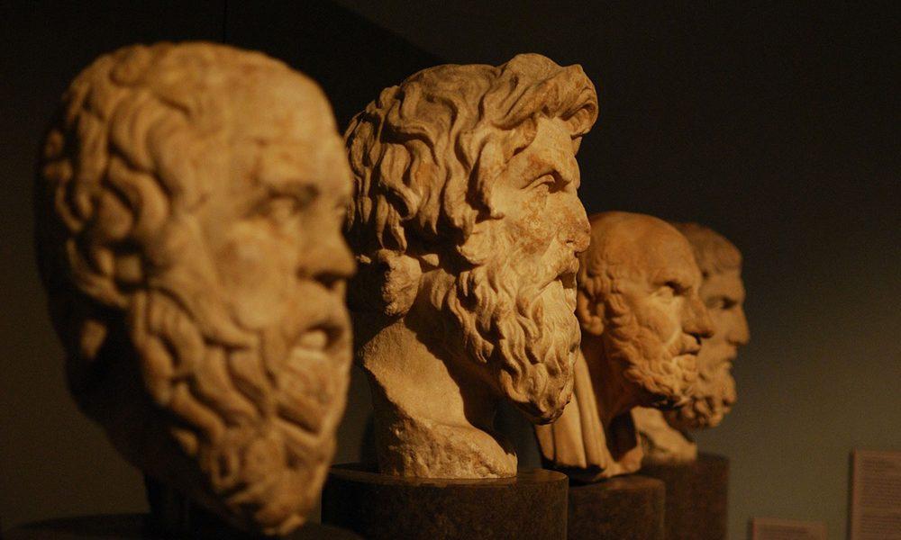 Aristotle statue