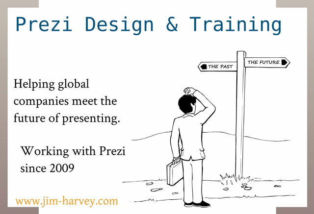 Jim Harvey Prezi Design and training screenshot