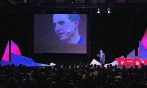 John Zimmer speaking at TEDx Lausanne