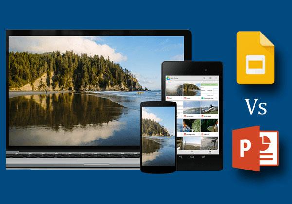 Google slides versus powerpoint cross platform compatability