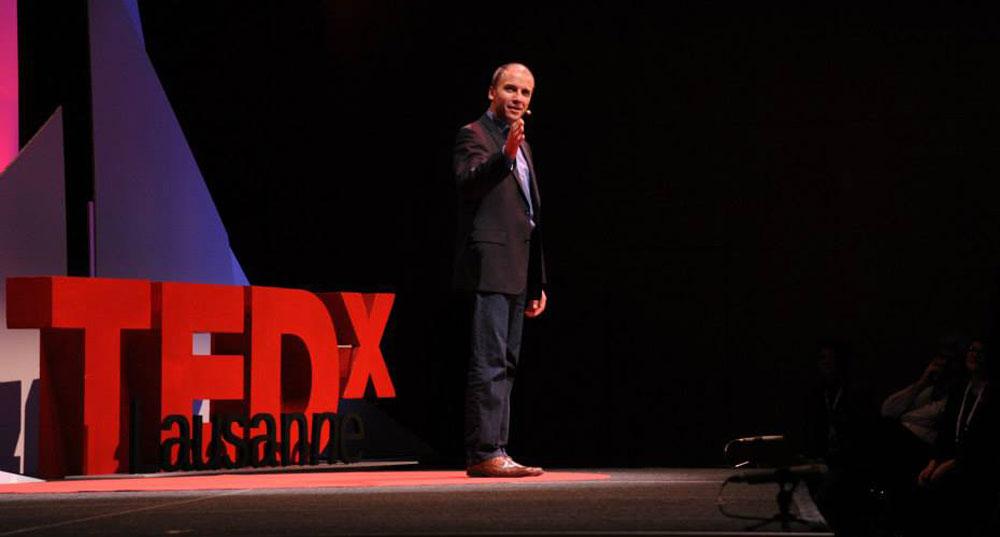 John Zimmer TedX Lausanne