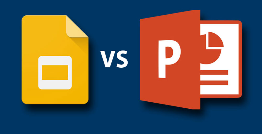 Google Slides Versus Powerpoint Presentation Guru - Google docs powerpoint presentation templates