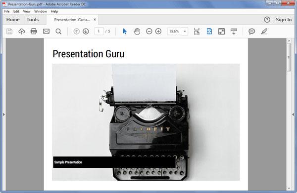 Presentation-guru-sample-presentation