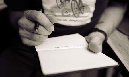 Preparing presentation in notebook