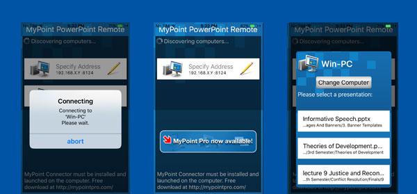 mypoint powerpoint remote