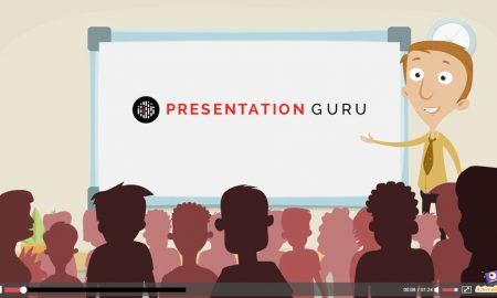 Animated presentation
