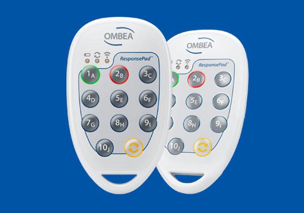 OMBEA live poll clicker