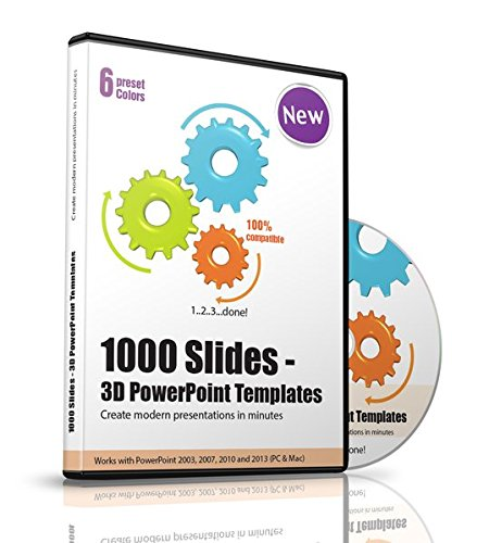 Over 1000 Powerpoint 3d Templates Slides And Charts Create