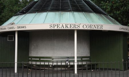 Speakers Corner, London get paid for public speaking