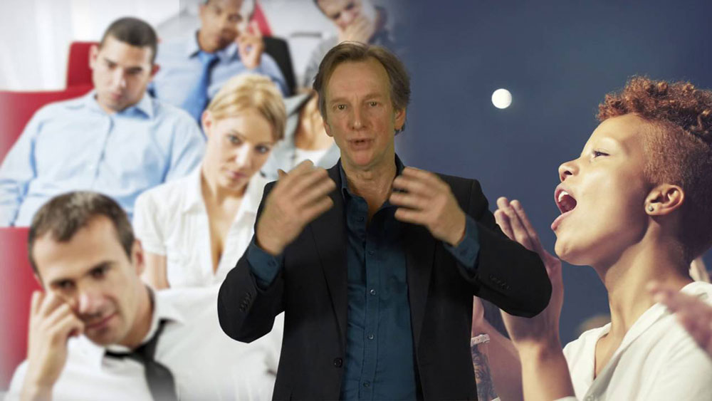 Nigel Barlow public speaking