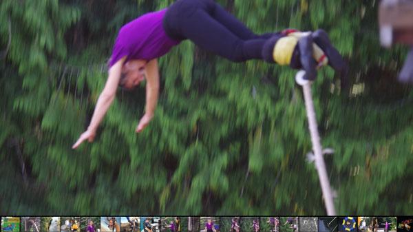 bungee jump prep