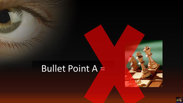bullet points don't convert directly to images