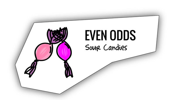 Sour candies analogy for avoid it all becoming a little too saccharine