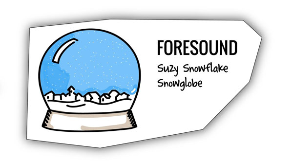 Snowglobe analagy for creating a sound that sounds superb