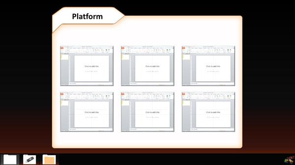 powerpoint platform folder