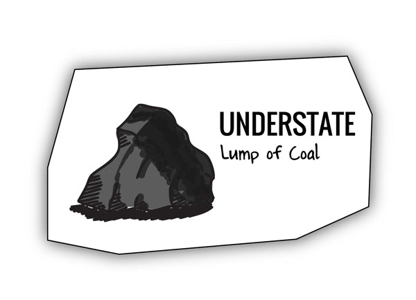 Lump of coal analogy for tackling painful memories