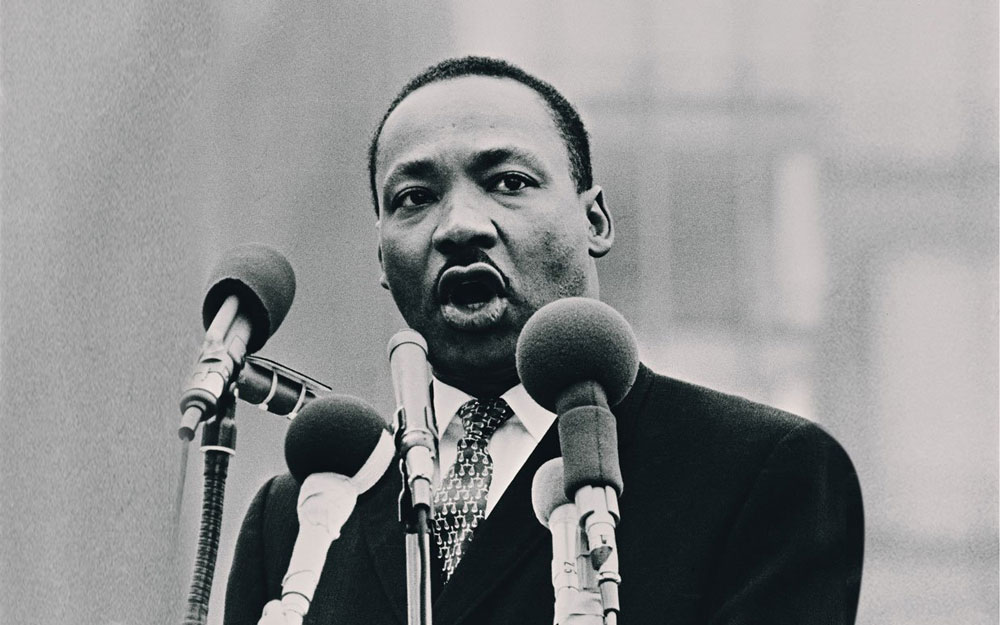 Martin Luther King great speaker