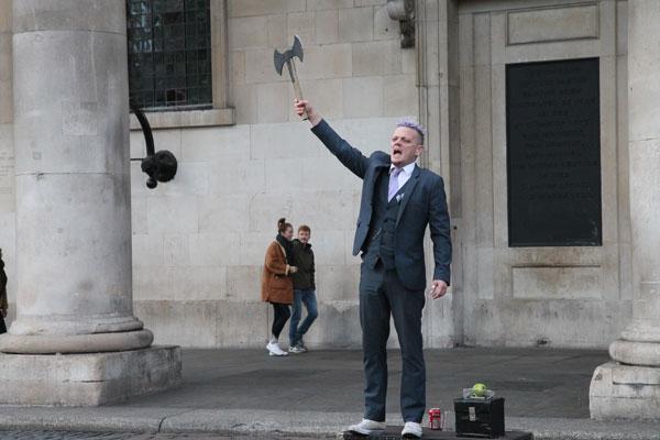 Street performer Will