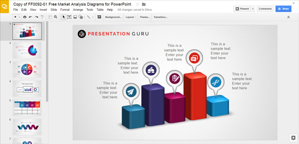 Slide model free templates presentation guru for Free slide templates
