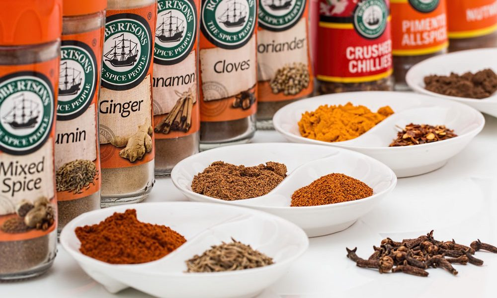 spices, flavourings, condiments