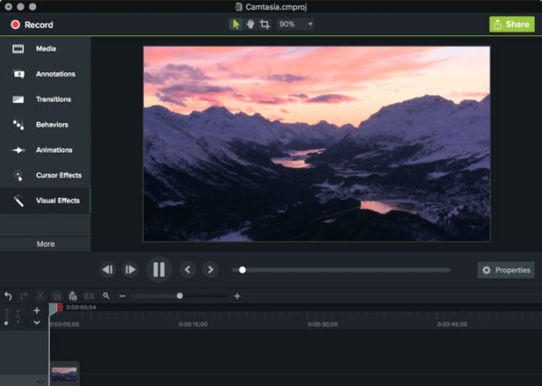 Camtasia Studio for creating powerpoint videos