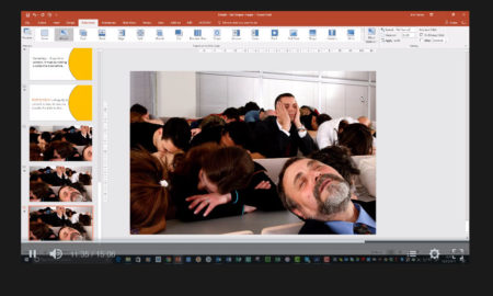 How to use Powerpoint Morph video screenshot