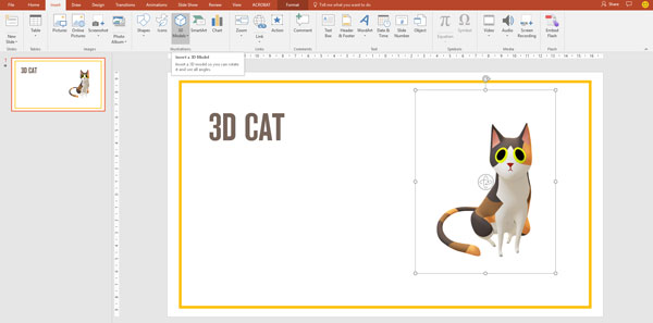 will the power of powerpoint lies in its 3d tool presentation guru