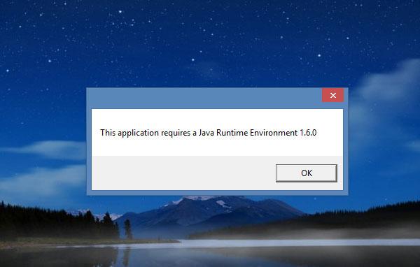 INstall java screenshot