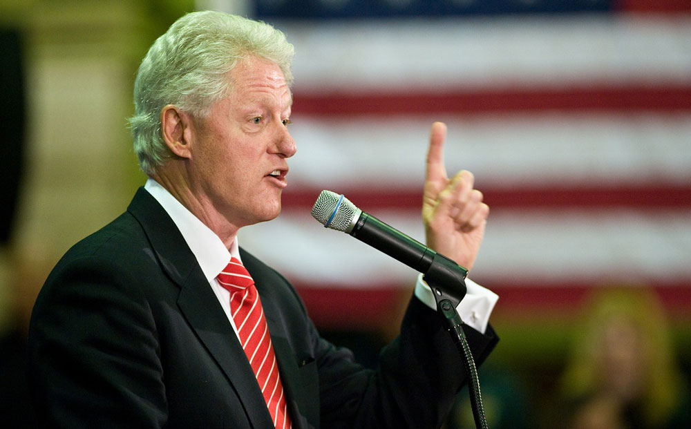 bill clinton charismatic speaker