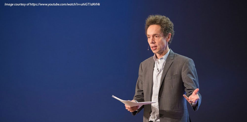 Malcolm Gladwell speaking