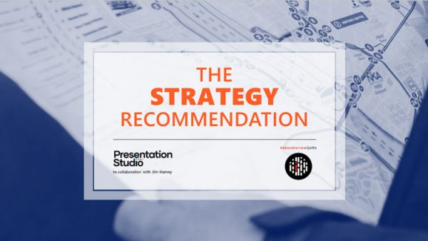 Powerpoint template for Strategy recommendation presentation