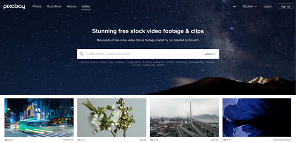 Pixabay video resource