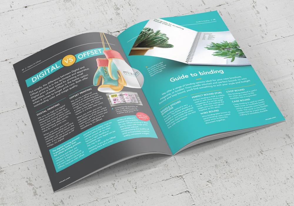 booklet for presentation handout