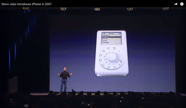 Steve Jobs amazing new product
